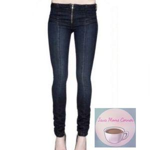 Genetic Denim Black Taro Skinny Cigarette Jeans